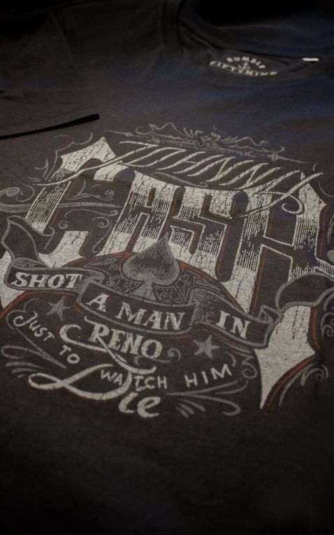 Rumble59 - T-Shirt - Shot a man in Reno