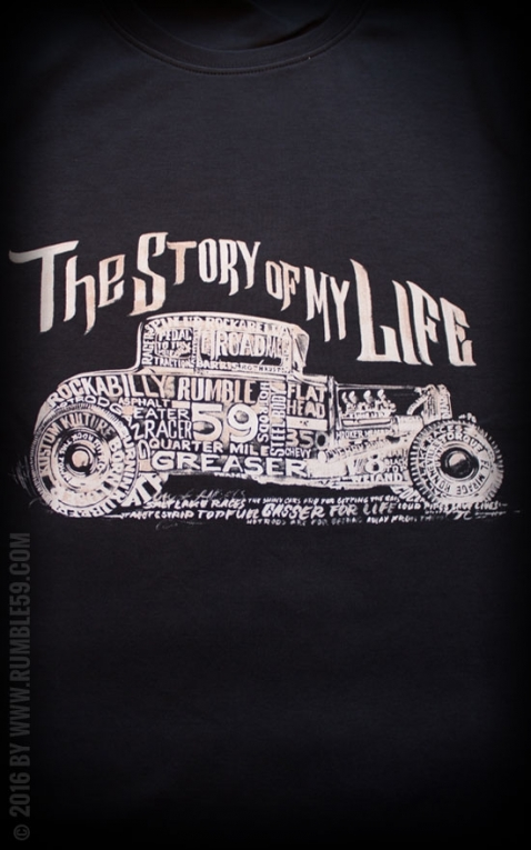 Rumble59 - T- Shirt - Story of my life