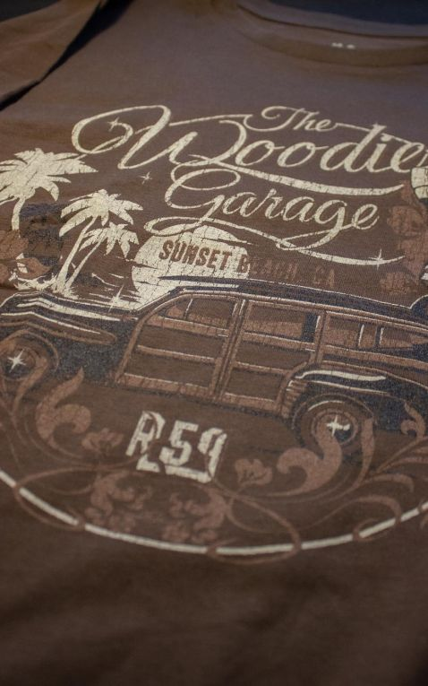 Rumble59 - T-Shirt - The Woodie Garage