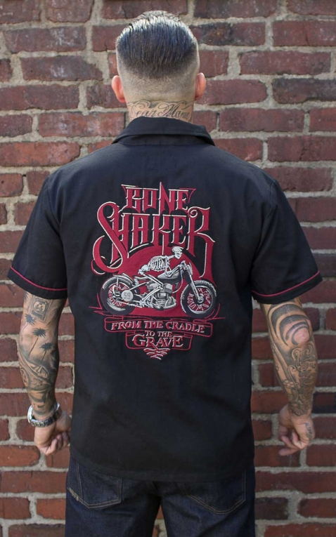 Rumble59 - Worker Shirt - Bone Shaker