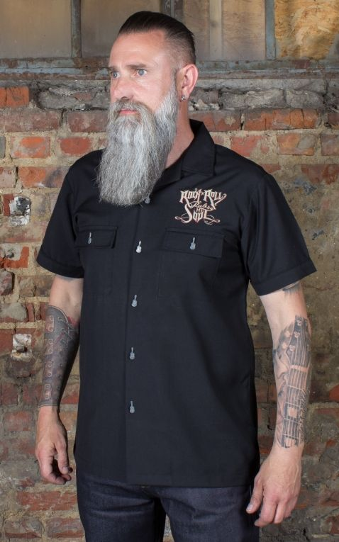 Rumble59 - Worker Shirt - RnR rules my soul
