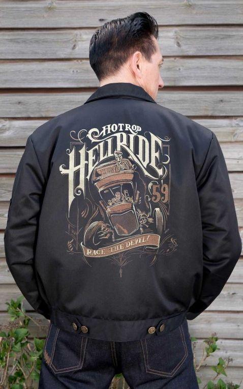 Rumble59 - Workerjacke - Hotrod Hellride