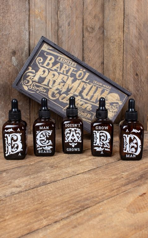 Rumble59 - Schmiere Set Beard Oil - 5 flavours, each 50ml