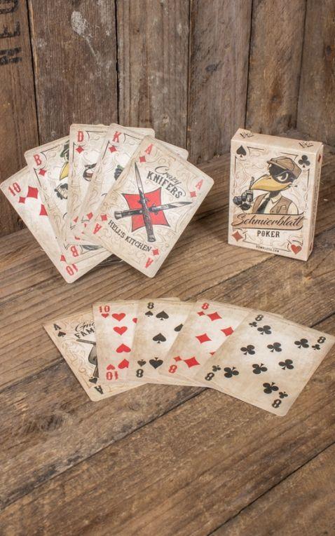 Rumble59 - Schmiere - 2er Set Poker Pomade mit Pokerblatt