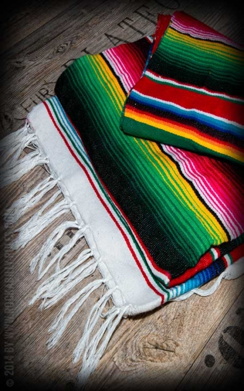 Original Mexican blanket - Sarapes
