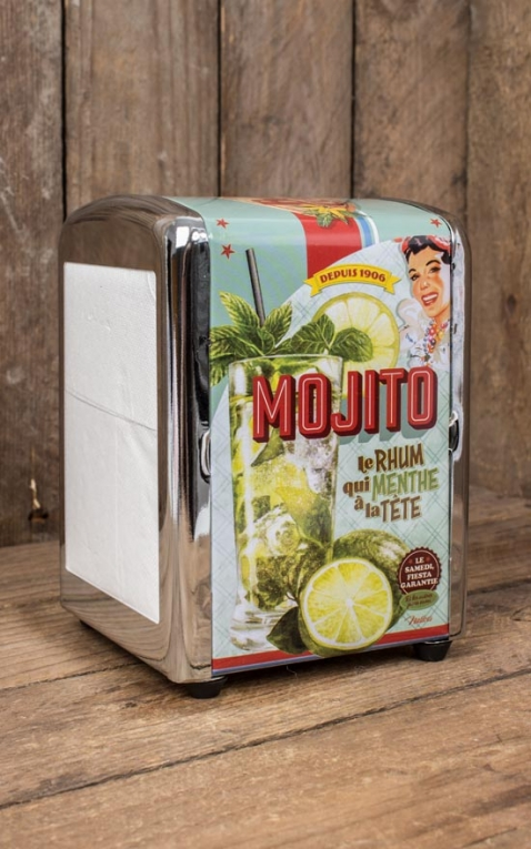 Napkin Dispenser Mojito Cocktail