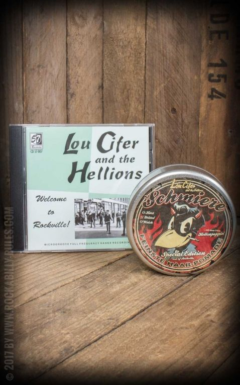 Set CD / Schmiere Pomade Lou Cifer + Welcome To Rockville
