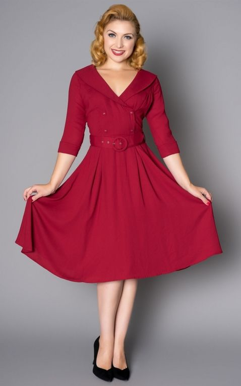 Sheen Clothing Kleid Rosie, rot