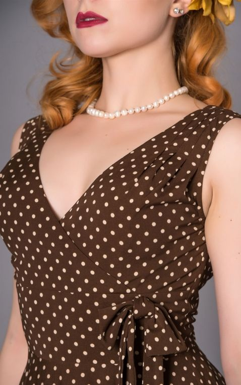 Sheen Clothing Polkadot Dress Emma