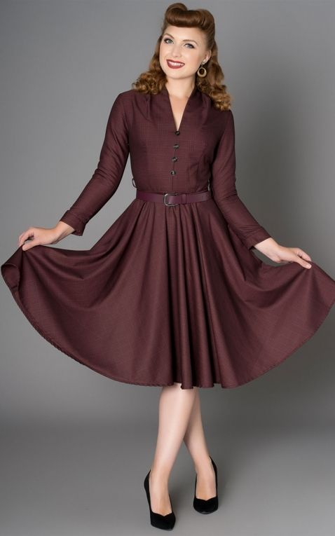 Sheen Clothing Herbst Kleid Helena