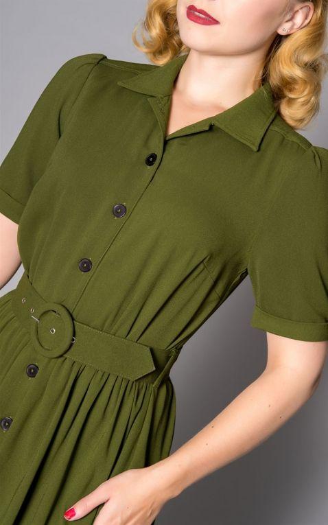 Sheen Clothing Dress Queenie, green