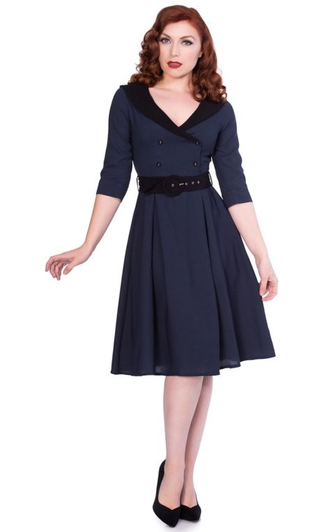 Sheen Clothing Kleid Midnight Romie