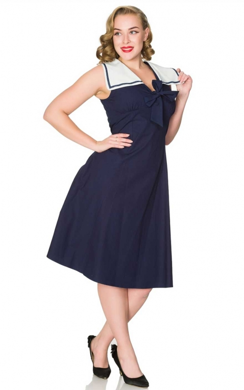 Sheen Clothing Été Robe Ahoy Sailor Pam