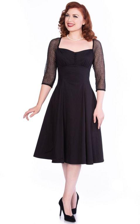 Sheen Clothing Swing Dress Elegant Charline