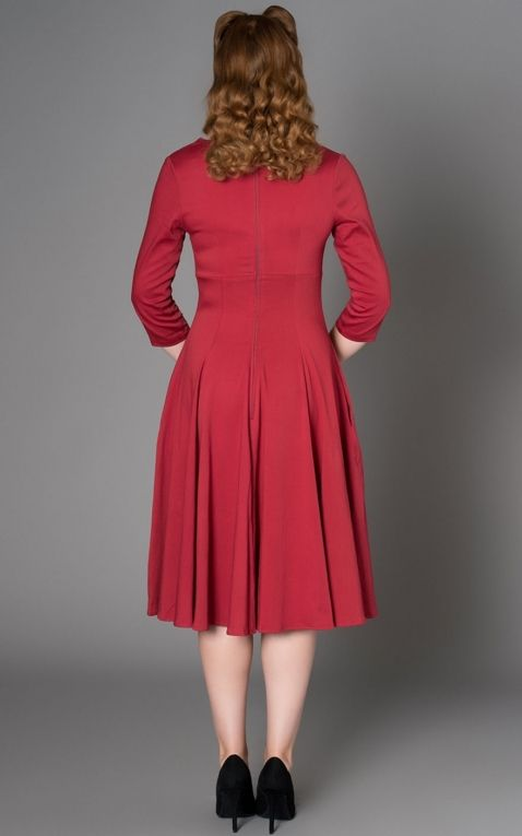 Sheen Clothing Kleid Nanette, rot