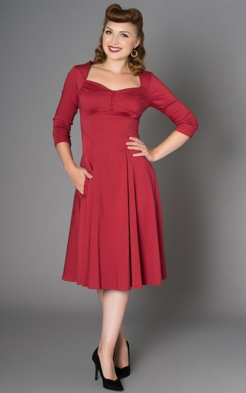 Sheen Clothing Dress Nanette, red