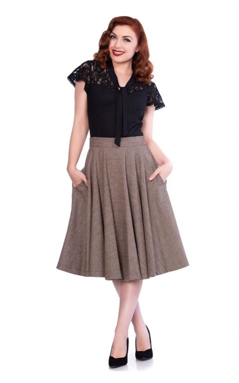 Sheen Clothing Swing Skirt Sophie