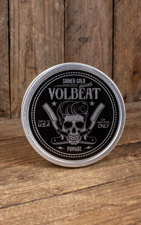 Shiner Gold Pomade Heavy Hold Volbeat Limited Edition