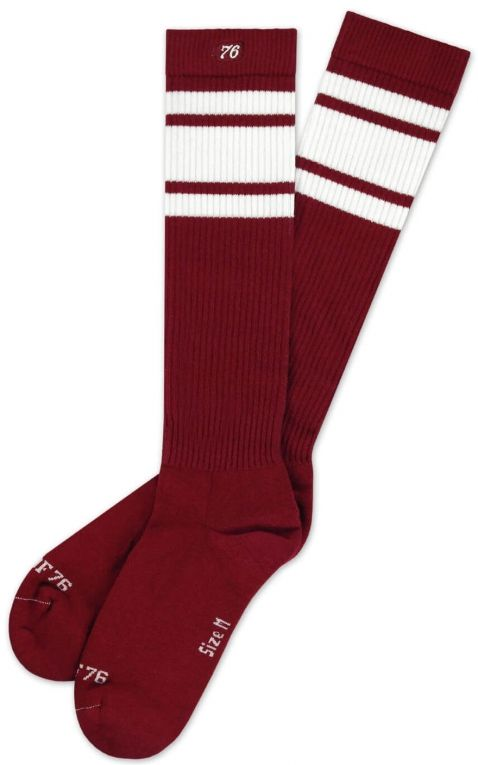 Hi Chaussettes Skate Big Red