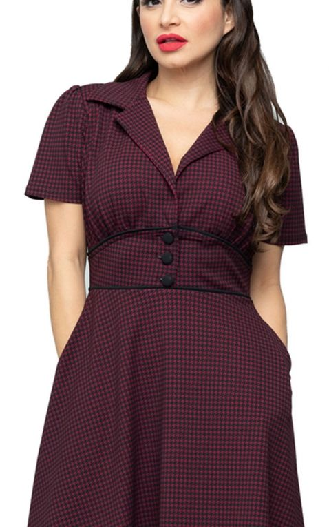 Steady Robe Diner Houndstooth Katherine