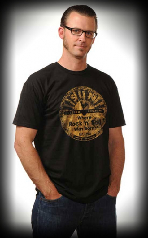 Steady T-Shirt - Distressed Sun Records