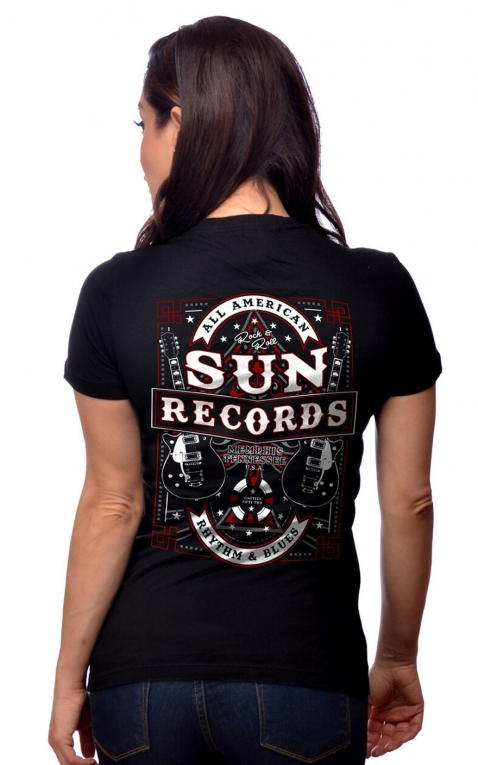 Steady Ladies T-Shirt - Sun Records All American