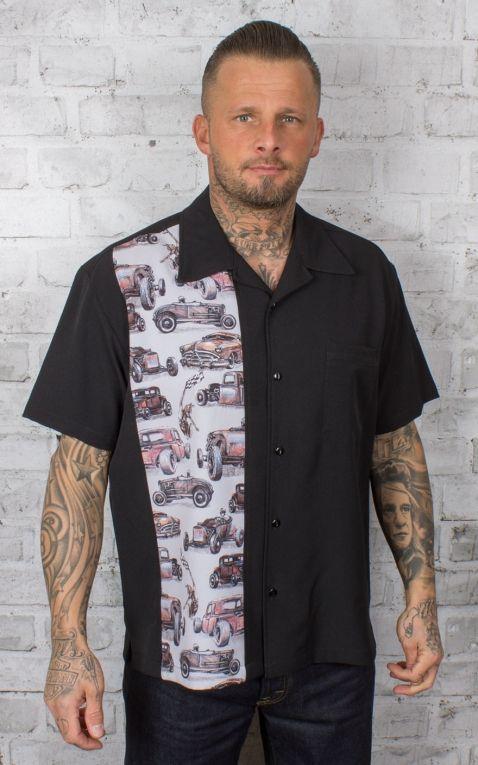Steady Shirt - Dragstripe Single Panel