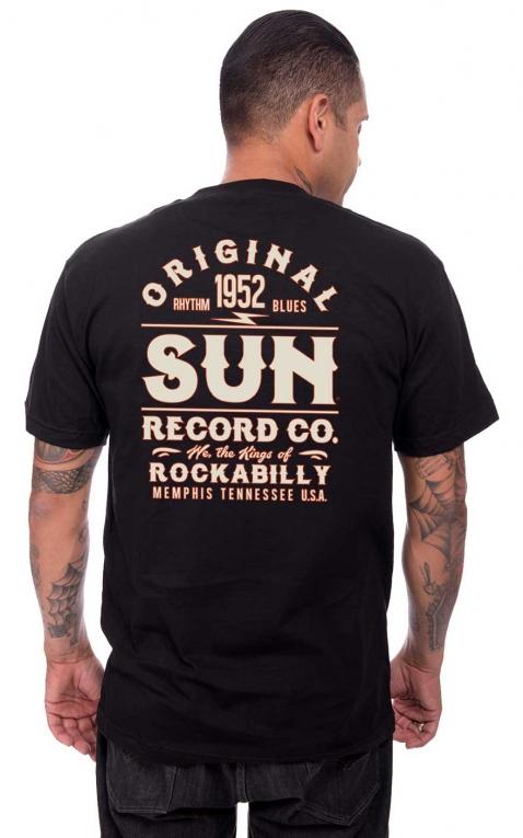 Steady T-Shirt - Original Sun, noir