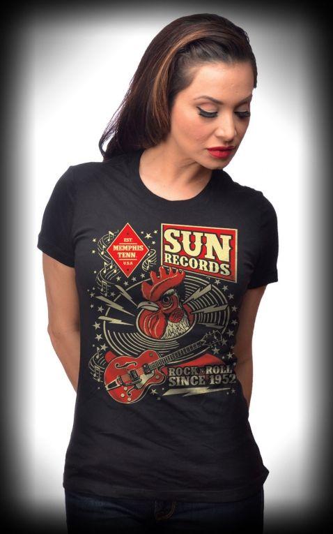 Steady - T-Shirt Femme Sun Records Hop