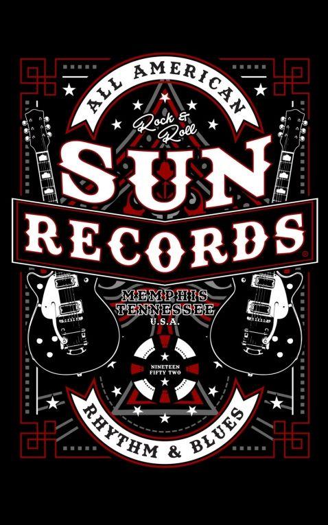 Steady T-Shirt Femme Sun Records All American