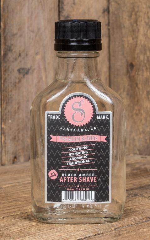 Suavecito Premium Black Amber After Shave