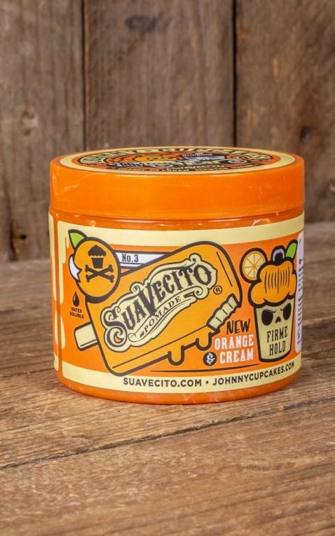 Suavecito Firme Hold X Johnny Cupcakes Pomade Orange & Cream