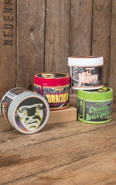 Suavecito X Universal Monster Pomade Set