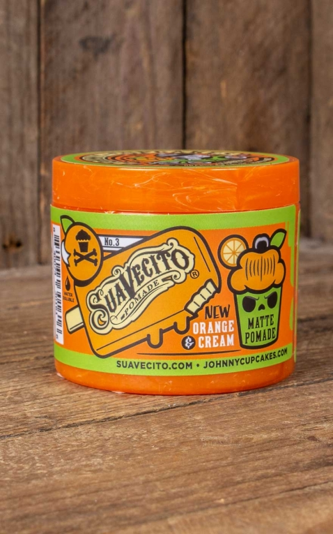 Suavecito Matte X Johnny Cupcakes Pommade Orange & Cream