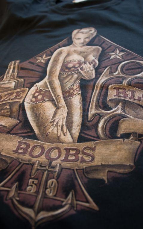Rumble59 - T-Shirt - Boobs - Booze - Blood