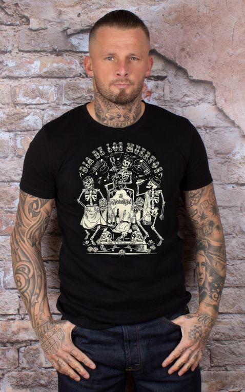 Mexican Mob - T-Shirt Dia de los Muertos
