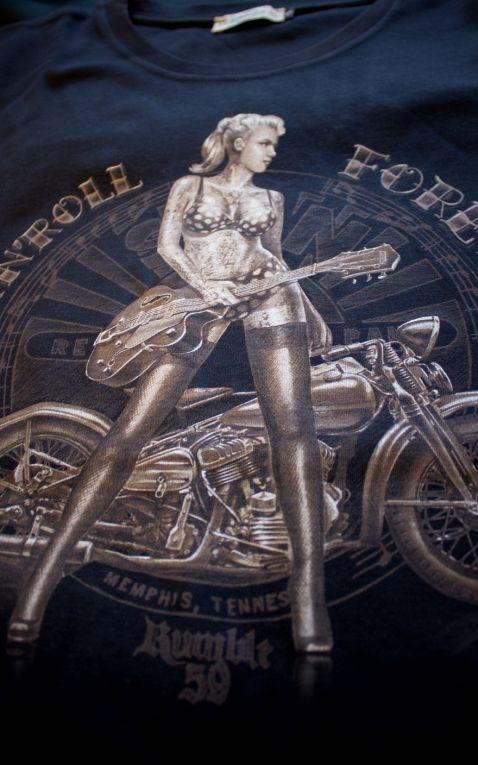 Rumble59 - T-Shirt - RocknRoll Forever