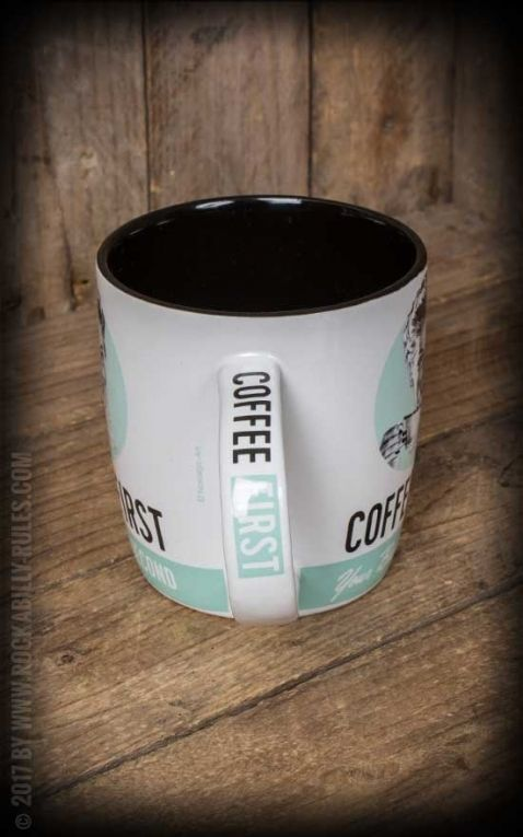 Vintage Mug Coffee First