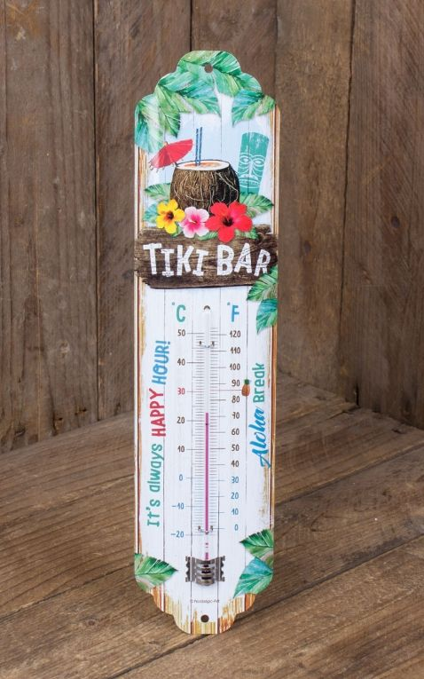 Thermomètre Tiki Bar