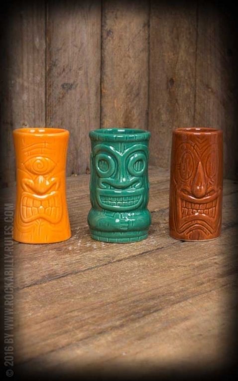 Tiki Becher Set - Schnapsgläser | Tiki Shots Hawaiian Dreams