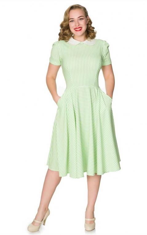 Sheen Clothing Swing Dress Brielle, stripe design