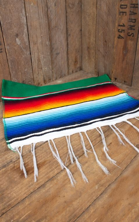 Table Runner | Tablecloth Sarapes - original mexican blanket
