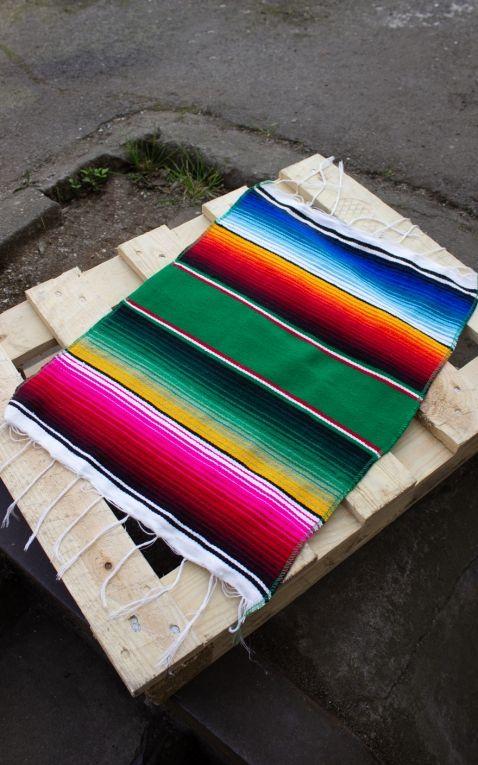 Tischläufer | Tischdecke Sarapes - original mexikanische Decke