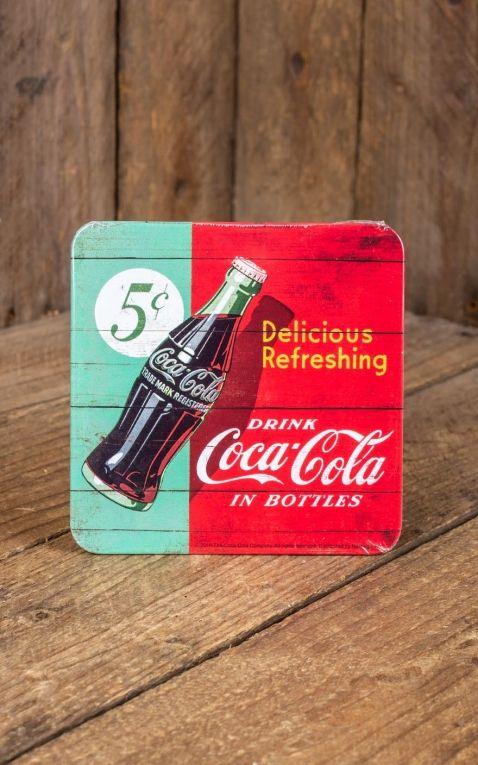 Coaster Coca-Cola - Delicious Refreshing Green