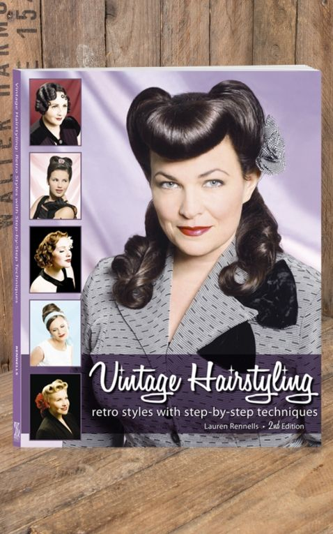 Book Vintage Hairstyling - by Lauren Rennells