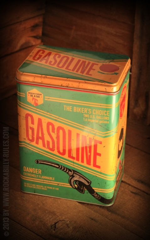 Storage tin - Gasoline