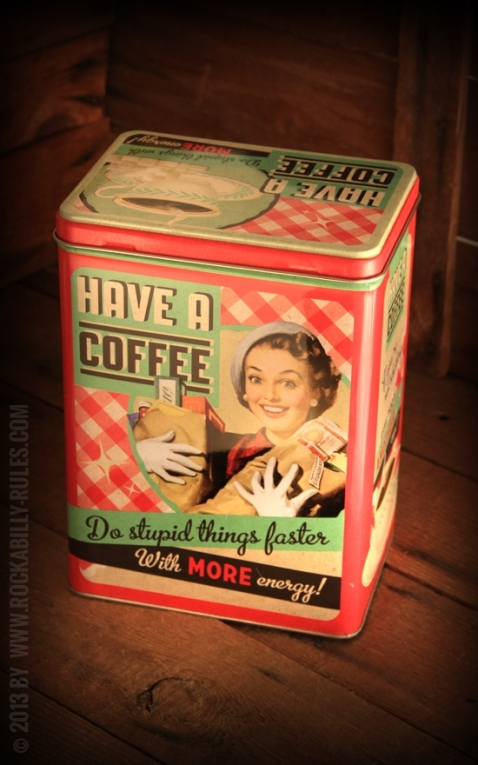 Storage tin - Have a Coffee