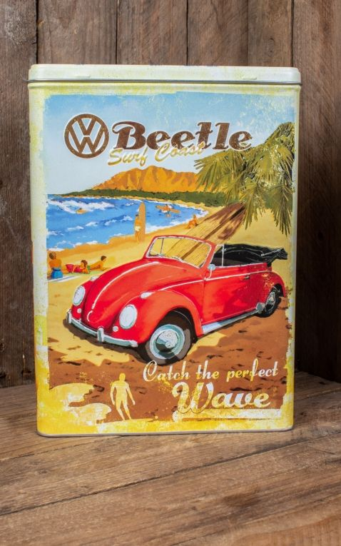Boîte a provisions XL - VW Bulli, Beetle - Ready for Summer, Ready for Beach