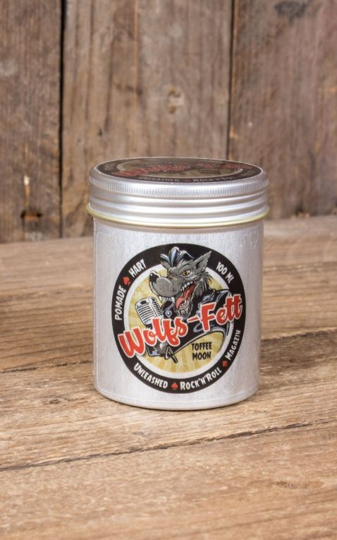 Wolfs-Fett Pomade Toffee Moon, hart
