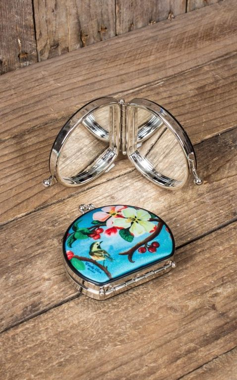 Woody Ellen Pin-Up pocket mirror Blossom